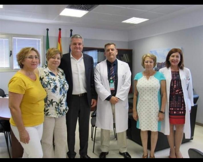 ALFIEL y Hospital de Poniente firman un acuerdo
