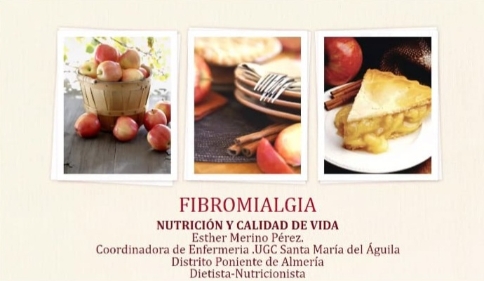 13 de mayo. Alimentación para pacientes con fibromialgia.